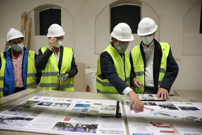 Las obras, con una inversión de 6,5 millones de euros, afectan a diversas dependencias de este espacio y estarán finalizadas en la primavera de 2021.