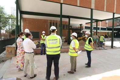 La Junta Municipal de Villaverde ha realizado este año la mayor inversión de su historia en el acondicionamiento de 20 colegios del distrito, con 1,4 millones de euros.