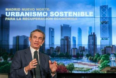 El presidente de Distrito Castellana Norte ha destacado en su intervención el papel clave de Madrid Nuevo Norte para impulsar la recuperación de la economía española.