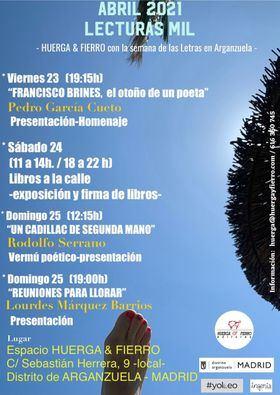 La Junta de Arganzuela invita a sus librerías a salir a la calle con motivo del Día del Libro