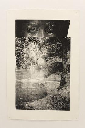 Azucena Vieites. 'Woollen Body. Rehacer Fundido encadenado', 2012. Serigrafía sobre papel.