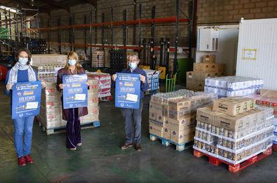 Los fondos de toda la recaudación de la campaña irán íntegramente destinados a la compra por parte de cada Banco de Alimentos de los alimentos más necesarios.