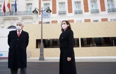 En marcha el montaje del Belén de la Puerta del Sol
