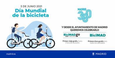 Celebrar la 'bici', con una hora gratis