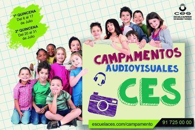 El Campamento Audiovisual de verano de CES es una buena opción para que los pequeños de la casa pasen un verano tan divertido como sorprendente, en un espacio seguro y con garantías higiénico sanitarias.