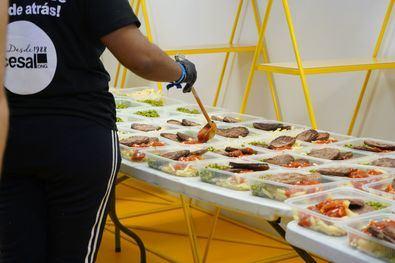 Las cocinas solidarias han elaborado miles de menús durante la pandemia.