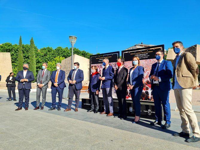La iniciativa, impulsada por la Concejalía de Comunicación del Ayuntamiento de Caravaca y el diario 'La Verdad', se ha trasladado a Madrid, coincidiendo con la celebración de la Feria Internacional de Turismo, FITUR.
