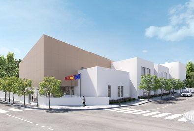 El equipamiento tendrá una superficie construida de 2.770 m2 y albergará espacios para desarrollar actividades socioculturales, formativas y de atención física.