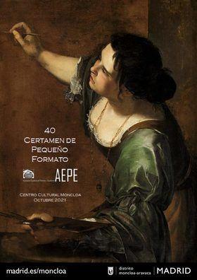 Sordo inaugura la exposición con las obras finalistas del 40 Certamen de Pequeño Formato