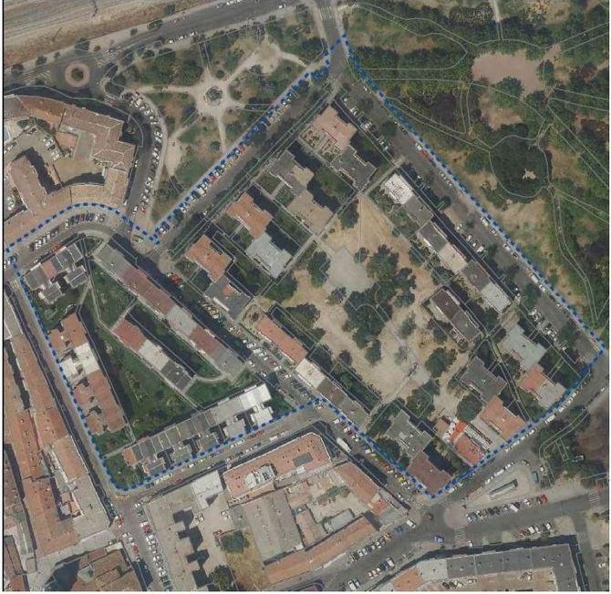 El plan, propuesto por el Área de Desarrollo Urbano que dirige Mariano Fuentes, afecta a 622 viviendas de un ámbito situado al norte del distrito de Villa de Vallecas.