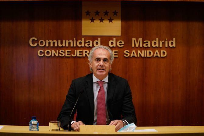 La Comunidad de Madrid mantiene para toda la región la prohibición de las reuniones de no convivientes en domicilios, salvo que se trate de cuidados a terceras personas (mayores, dependientes, menores de edad o personas vulnerables).