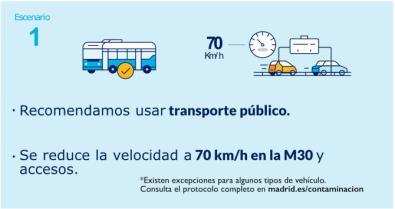 Madrid mantiene el protocolo anticontaminación