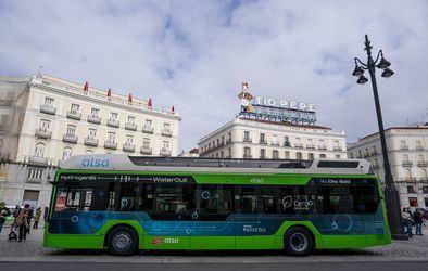 El primer autobús de hidrógeno, en Madrid