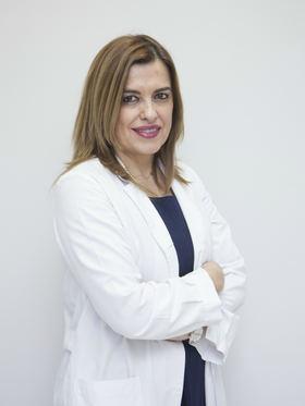 En la imagen superior, la Dra. Carmen Pingarrón, jefa de Equipo de Ginecología y Obstetricia del  Hospital Quirónsalud San José.