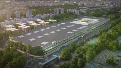 El ámbito sobre el que se va a actuar tiene una superficie de 66.600 m2 y en él se encuentran actualmente el Centro de Operaciones de la EMT, parte de la instalación deportiva municipal Arroyo de la Media Legua (hoy Trece Rosas) y espacios libres y zonas ajardinadas.