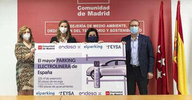 Madrid acogerá la mayor electrolinera de España