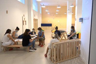 """La vicealcaldesa de Madrid ha destacado """"la reapertura segura"""" de los 68 centros de la red de escuelas infantiles municipales, """"clave"""" para la conciliación de las familias."""