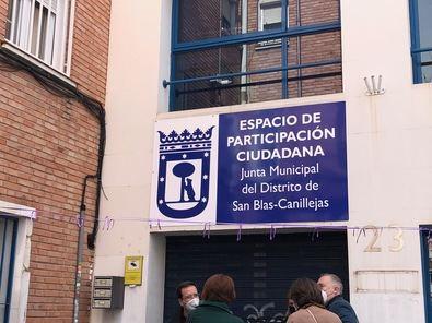 La Junta Municipal de San Blas-Canillejas ha llevado a cabo la reforma del Espacio de Participación Ciudadana con el objetivo de albergar a más asociaciones.