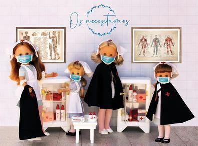 La colección cuenta con más de 70 muñecas, dispuestas en la primera planta del centro comercial. Se pueden encontrar las primeras Nancy del año 1968.
