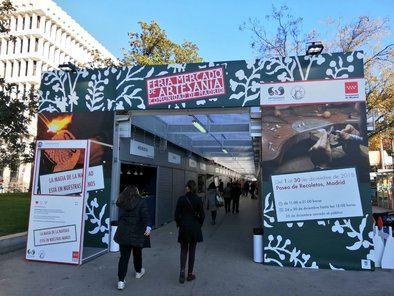 La Feria Mercado de Artesanía se celebra ininterrumpidamente desde 1988 y reúne este año a 67 talleres artesanos, procedentes de siete comunidades autónomas.