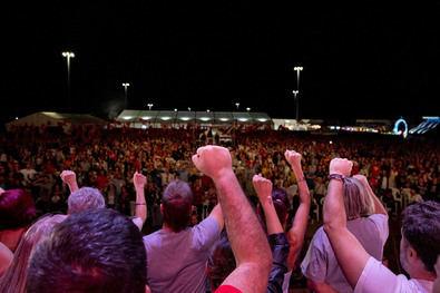 El Partido Comunista de España (PCE) celebrará su fiesta anual del 24 al 26 de septiembre, en el recinto ferial de la localidad madrileña de Rivas Vaciamadrid.