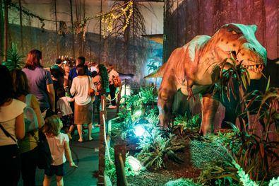 Recorriendo impresionantes paisajes naturales, el público podrá sumergirse en un universo fascinante: la Era Mesozoica, el periodo en el que vivieron los dinosaurios de mayor tamaño.