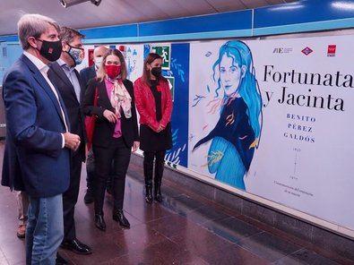 'Fortunata y Jacinta', en la estación de Ríos Rosas