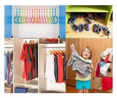 Organizar el armario de los 'peques'
