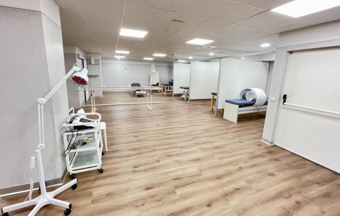 El Hospital HLA Moncloa incorpora a sus servicios un nuevo gimnasio de rehabilitación