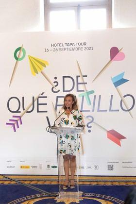 Maíllo ha destacado que iniciativas como Hotel Tapa Tour, que se suma a una larga lista de eventos celebrados a lo largo del año organizados o promocionados por el Ayuntamiento, contribuyen a posicionar a la ciudad como gran destino enogastronómico.