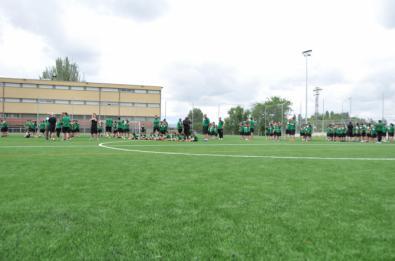 Campo de fútbol de Alzola, en Usera