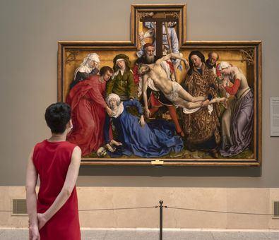 Desde su apertura, 'Reencuentro' ha recibido cerca de 150.000 visitas 'en ausencia de turismo internacional' --del total de visitantes, un 75% han sido procedentes de la Comunidad de Madrid--, según ha explicado la pinacoteca.
