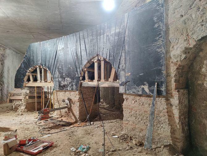 Los nuevos hallazgos, que no pueden ser conservados 'in situ', serán desmontados y traslados a la superficie para su conservación y contemplación.