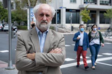 Luis Cueto, concejal de Más Madrid y portavoz en el Distrito de Salamanca.