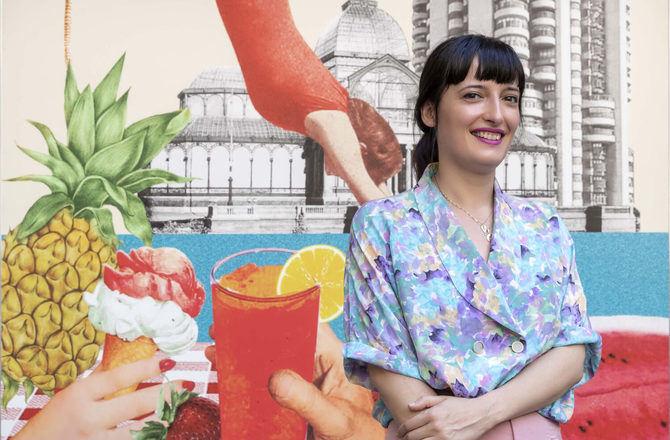 """La arquitecta e ilustradora Lara Lars asegura que lo que le gusta de Madrid, y por lo que siempre quiso vivir aquí, es que 'cada barrio tiene su personalidad propia. Son como pequeños pueblos dentro de una gran ciudad""""."""