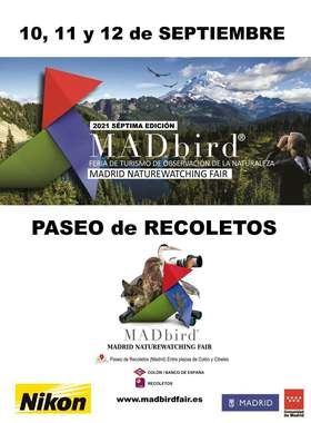 MADbird Fair arranca este viernes en el paseo de Recoletos, con actividades sobre la fauna y la flora durante el fin de semana