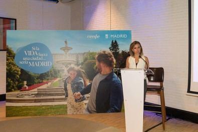 Se difundirá en medios digitales, redes sociales y en soportes propios de Renfe, que acoge en su web un especial con información sobre los mejores planes de Madrid.