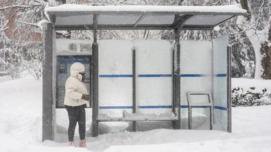 Sin autobuses en Madrid, un día más