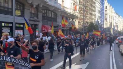 Diligencias contra la manifestación nazi en Chueca
