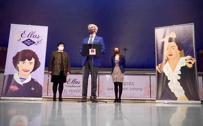 El consejero de Transportes, Movilidad e Infraestructuras de la Comunidad de Madrid, Ángel Garrido, ha presentado la exposición junto a la consejera delegada de Metro, Silvia Roldán. Con este homenaje, la estación de Manuela Malasaña contará, de forma permanente, con las imágenes de estas mujeres realizadas por la ilustradora Teresa García Hermida.