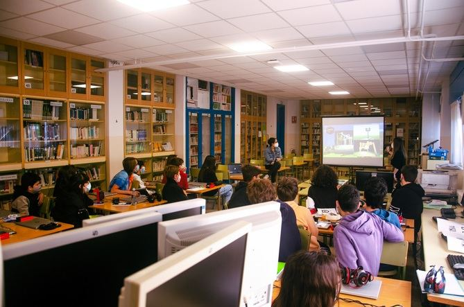 Jóvenes de varios colegios de Madrid utilizarán el videojuego Minecraft para elaborar su visión del parque central de Madrid Nuevo Norte.