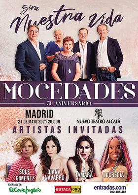 Mocedades estrena canción y celebra su 50 aniversario en concierto, en Madrid