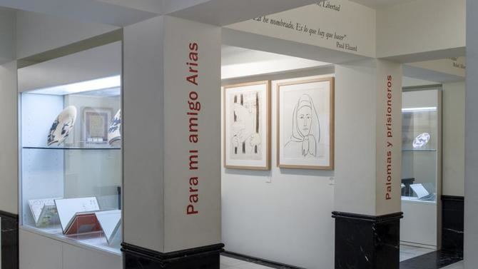 El Museo Picasso-Colección Eugenio Arias ofrecerá el sábado, 22 de mayo, el espectáculo Y tú, ¿qué sabes de Picasso y Arias?, una divertida propuesta para todos los públicos, con formato de programa de televisión.
