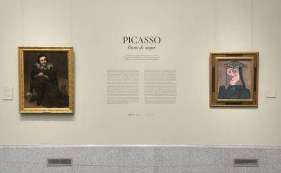La obra, donada a American Friends of the Prado Museum gracias a la generosidad de Aramont Art Collection, cuelga ya en la sala dedicada al Greco junto a El bufón Calabacillas de Velázquez, dos de los artistas que más influyeron en la obra de Picasso.