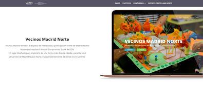 La plataforma VecinosMadridNorte.com nace con el espíritu de compartir el gran proyecto de transformación urbana de la capital con todos los madrileños.