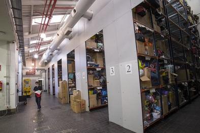 Actualmente, hay 88.585 objetos en custodia en la Oficina de Objetos Perdidos, de los que 15.883 han sido depositados en los primeros seis meses de 2021.