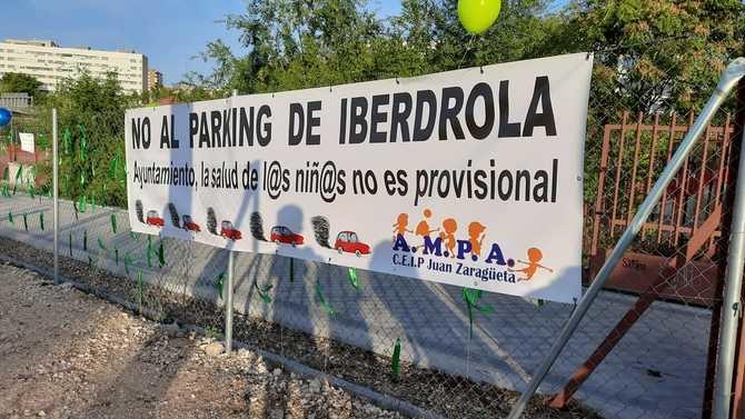El AMPA del Zaragüeta han destacado el 'casi un año de lucha'. 'Nos sentimos como si nos hubieran dado un premio, la construcción del futuro parque. Esperemos que pronto se haga realidad', han deseado.
