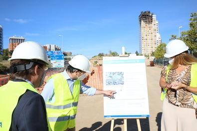 Entre los tres aparcamientos sumarán 1.201 plazas en los distritos de Hortaleza, Fuencarral-El Pardo y Latina. Las obras finalizarán en el primer semestre de 2021.