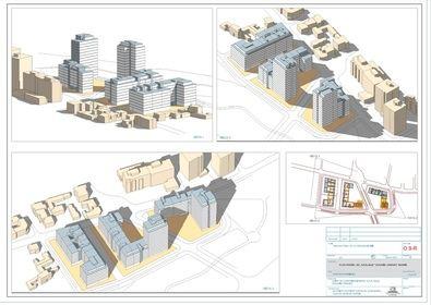 La propuesta del Área de Desarrollo Urbano afecta a una superficie de 47.000 m2, de los que 25.000 m2 son zonas verdes.