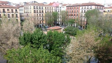 La Junta Municipal de Centro recupera este inmueble, situado en la plaza del Dos de mayo, para poder respetar la distancia de seguridad en la atención social a los vecinos y ante la falta de espacios disponibles.